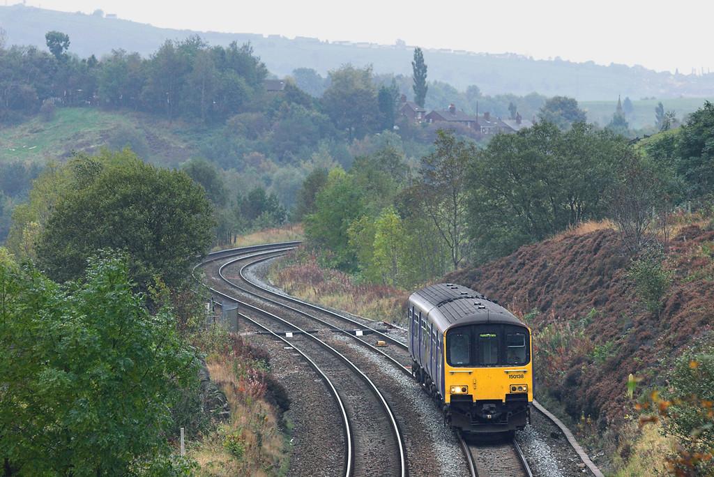150138 Quick 11/10/2007<br /> 2E62 1327 Manchester Victoria-Huddersfield