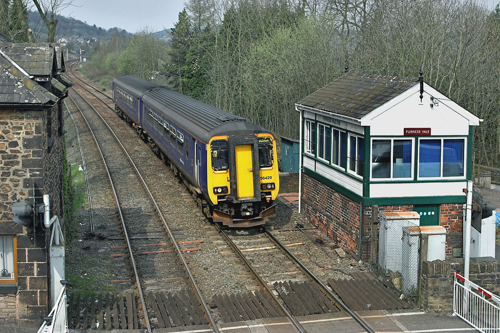 156429 Furness Vale 12/4/2007<br /> 2H92 1011 Blackpool North-Buxton