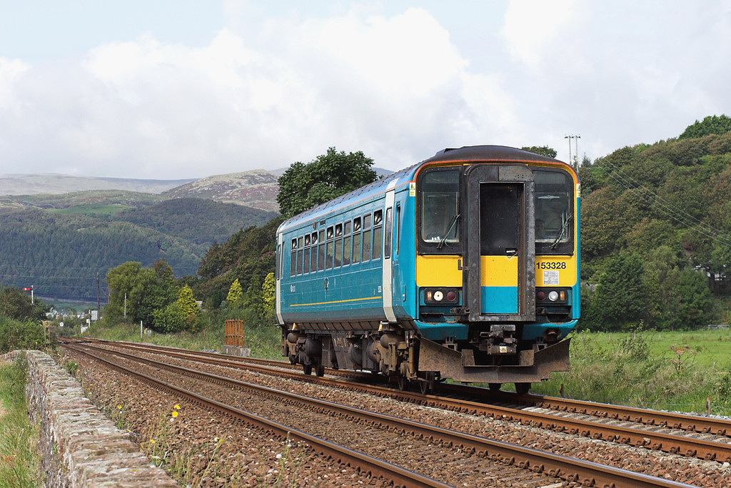 153328 Foxfield 12/9/2007<br /> 2C30 1014 Carlisle-Barrow in Furness