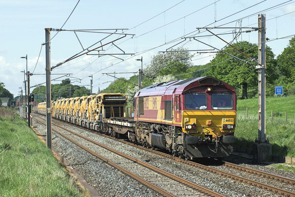66023 Woodacre 14/5/2007<br /> 6K05 1322 Carlisle Yard-Basford Hall