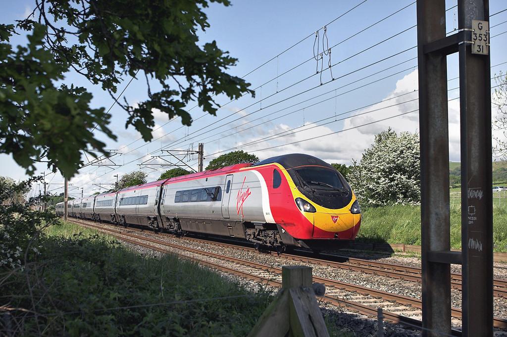 390015 Woodacre 14/5/2007<br /> 1A80 1434 Carlisle-London Euston