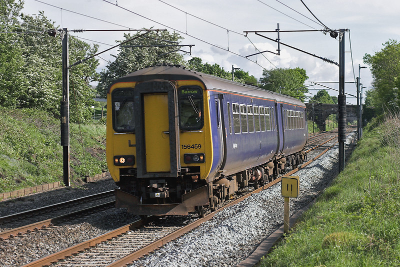 156459 Woodacre 14/5/2007<br /> 2C39 1557 Liverpool Lime Street-Barrow in Furness