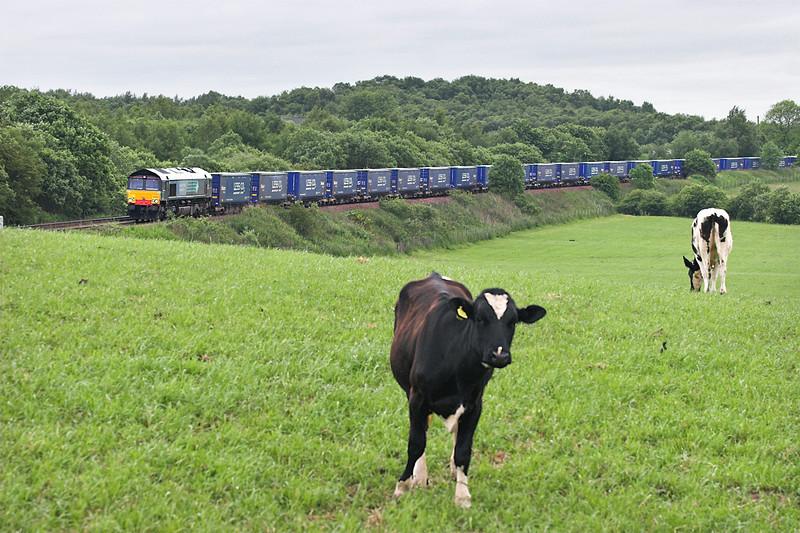 66402 Greenfoot 14/6/2007<br /> 4S43 0631 Daventry-Grangemouth