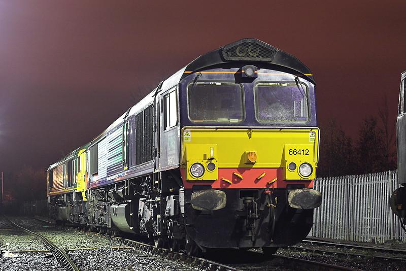 66412 and 66625, Carlisle 13/11/2007