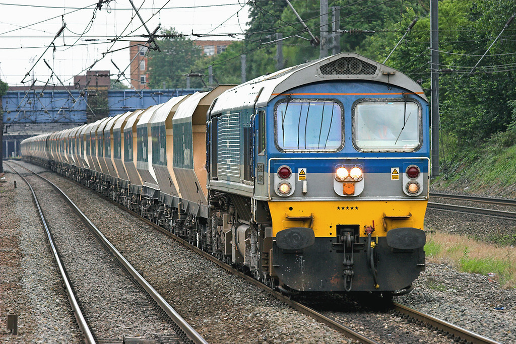 59005 West Ealing 18/6/2007<br /> 6V18 1243 Hither Green-Whatley Quarry