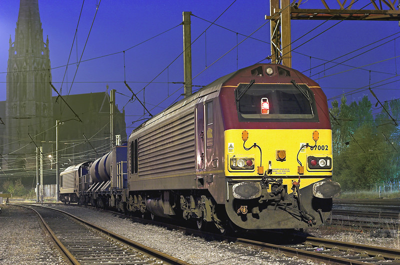 67002 and 67025, Preston 20/10/2007