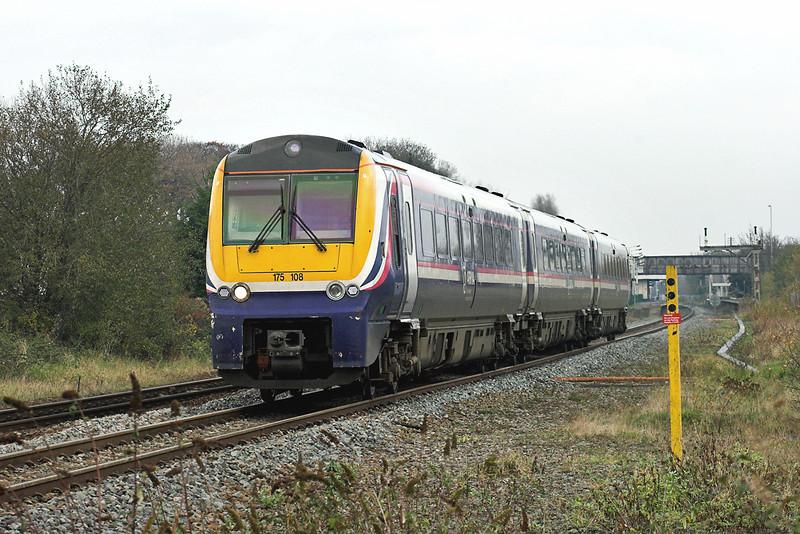 175108 Prestatyn 20/11/2007<br /> 1D60 0903 Crewe-Holyhead