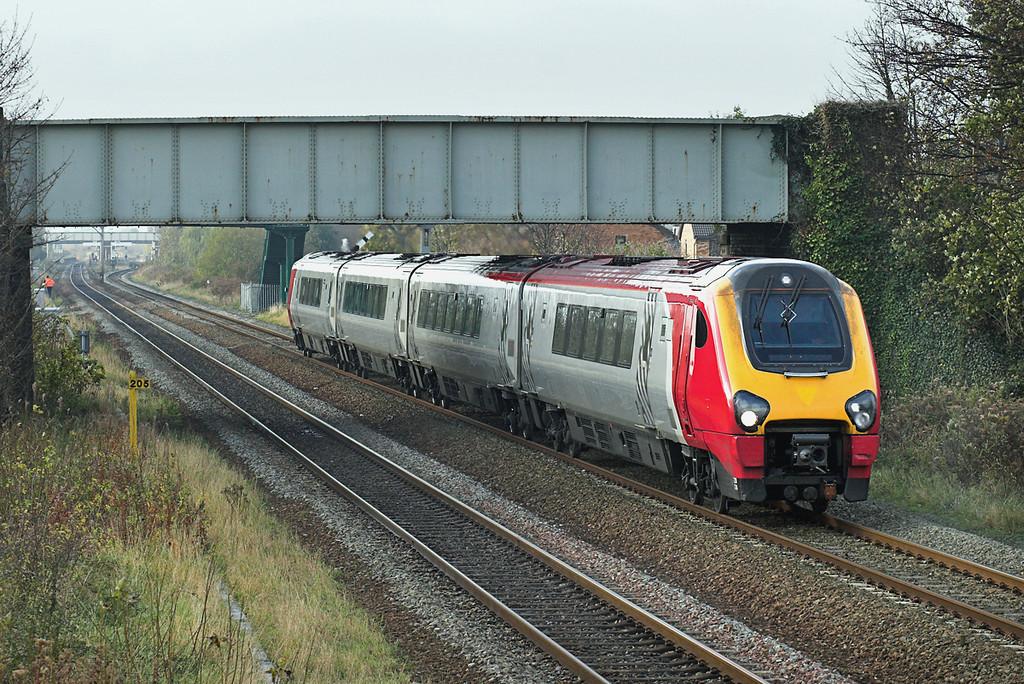 220024 Prestatyn 20/11/2007<br /> 1A46 0950 Holyhead-London Euston