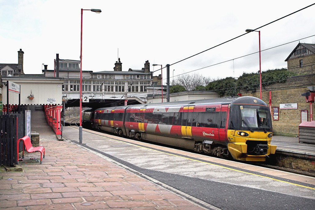 333007 Keighley 21/2/2007<br /> 2S31 1232 Skipton-Bradford Forster Square