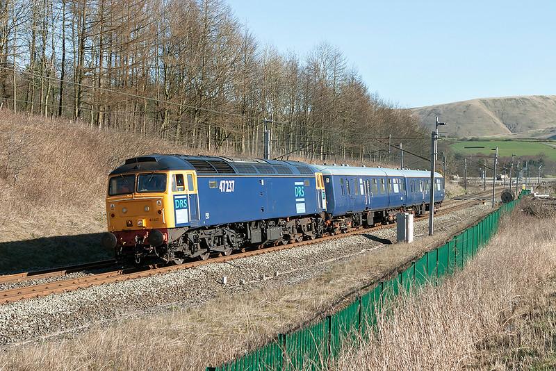 47237 Beck Foot 21/3/2007<br /> 5Z89 0844 Carlisle Kingmoor-Crewe CLS