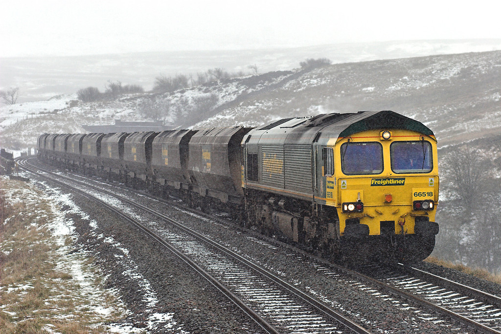 66518 Grisedale 24/1/2007<br /> 4S11 0730 Drax PS-Hunterston