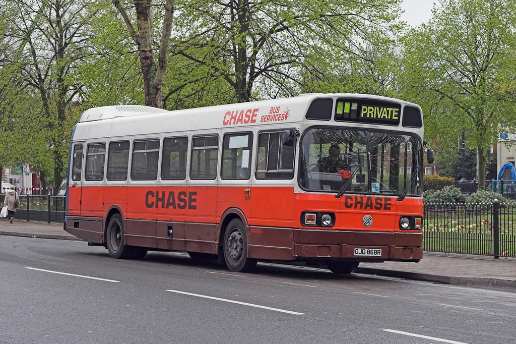 43 OJD868R, Bloxwich 24/4/2007