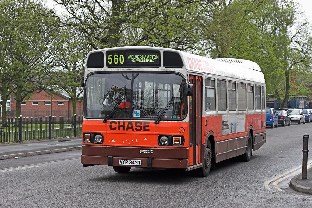 57 AYR343T, Bloxwich 24/4/2007