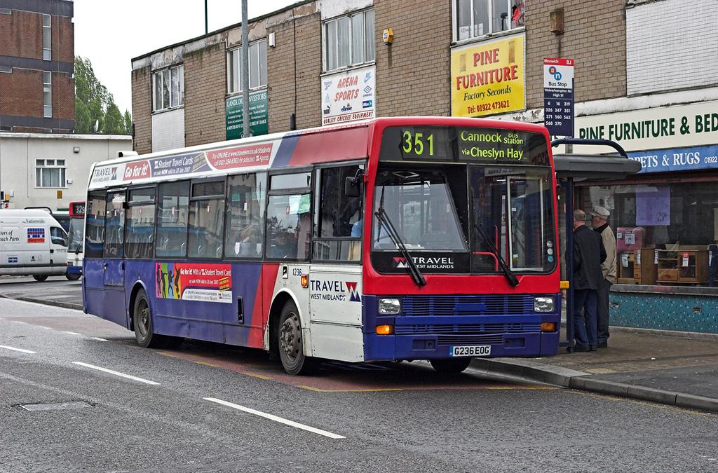 1236 G236EOG, Bloxwich 24/4/2007