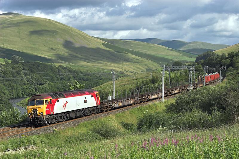 57304 Dillicar 24/7/2007<br /> 6S19 1203 Chirk-Carlisle Yard