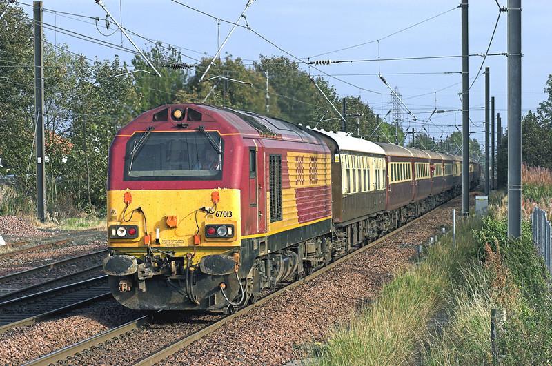67013 Prestonpans 25/10/2007<br /> 1Z67 0740 Bradford Interchange-Prestonpans