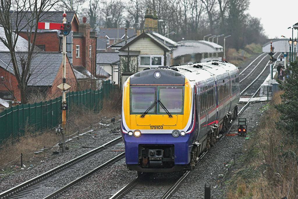 175103 Gobowen 26/1/2007<br /> 1W86 1120 Cardiff Central-Holyhead