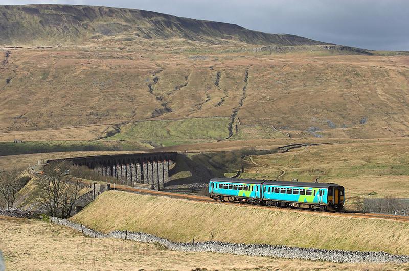 156482 Ribblehead 26/2/2007<br /> 2H88 1249 Leeds-Carlisle
