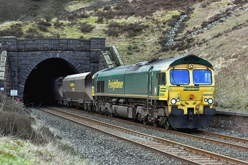 66549 Denthead 26/2/2007<br /> 4S11 0457 Cottam PS-Hunterston