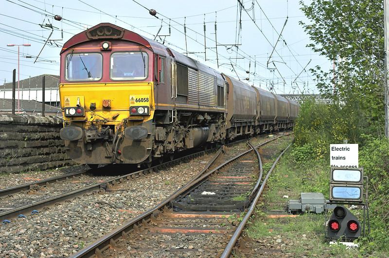 66058 Carlisle 28/4/2007<br /> 6E85 0521 Hunterston-Drax PS