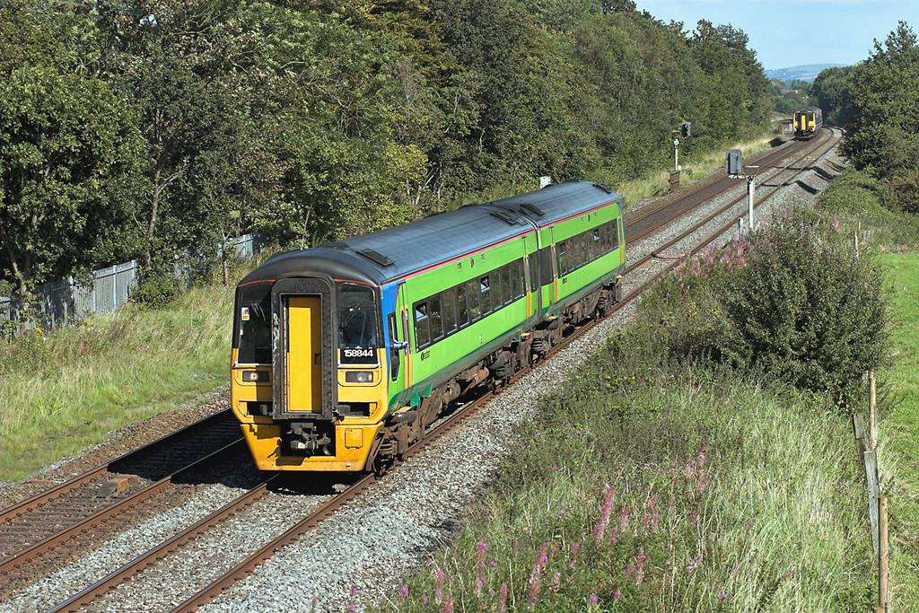 158844 Lea 29/8/2007<br /> 1B32 1309 York-Blackpool North