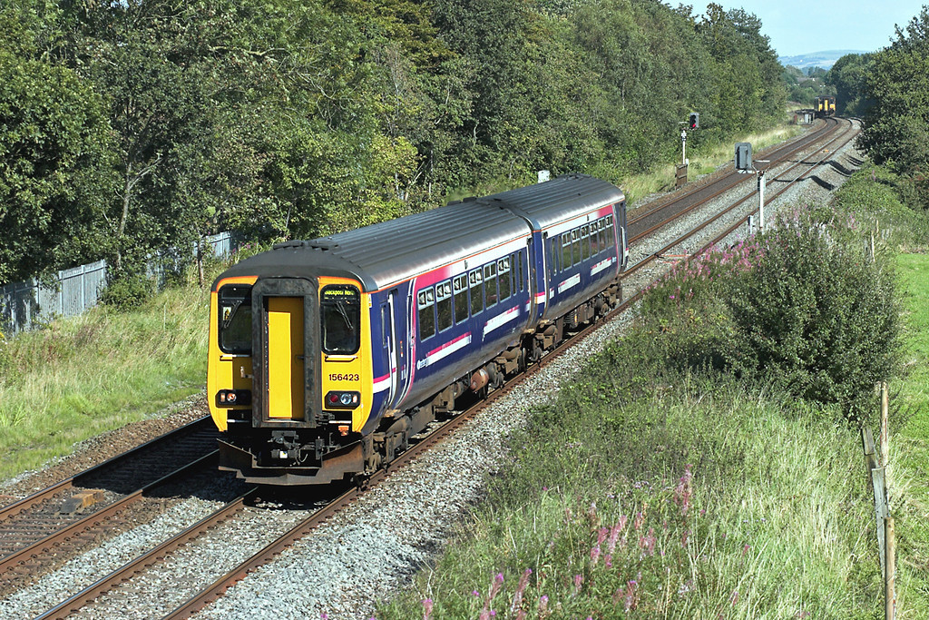 156423 Lea 29/8/2007<br /> 2N99 1334 Buxton-Blackpool North