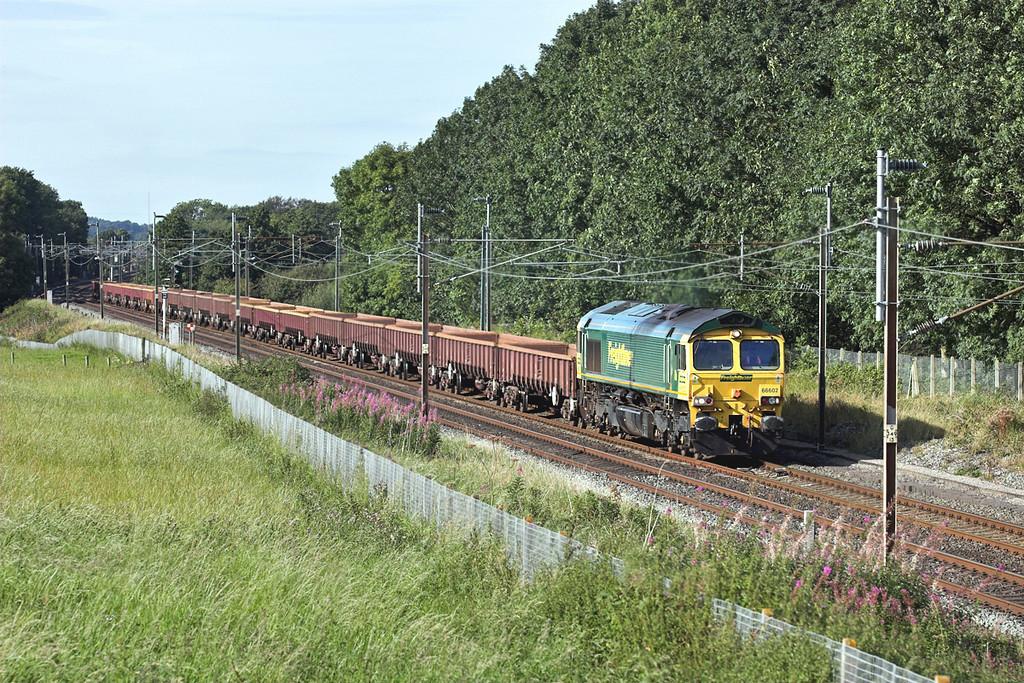 66602 Brock 29/8/2007<br /> 6Z27 1517 Carlisle Yard-Basford Hall