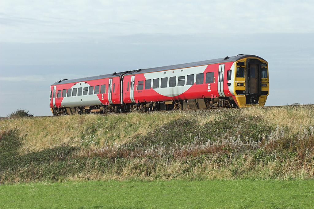 158907 Weeton 30/9/2007<br /> 1B23 1711 Blackpool North-York