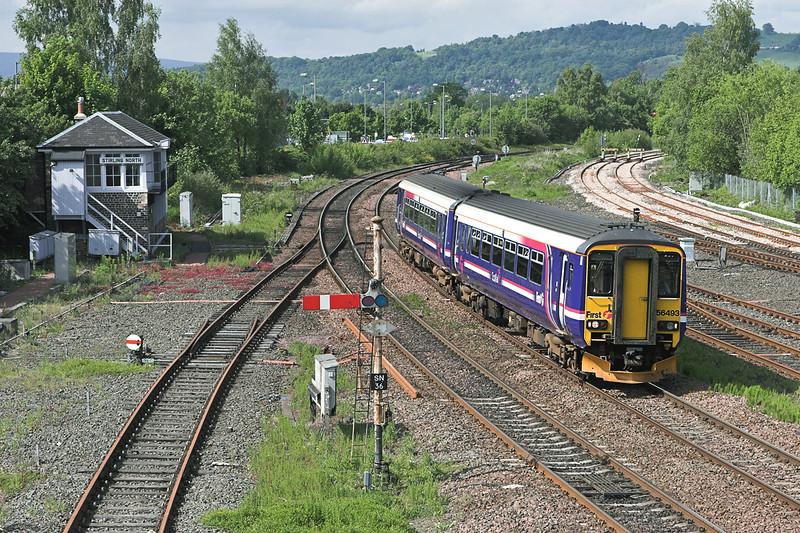 156493 Stirling 31/5/2007<br /> 2P92 1556 Dunblane-Edinburgh