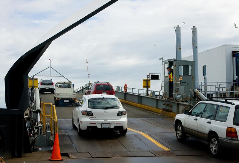 Yay we made it back! I hate those 90 minute ferry rides - I find them sooooo boring!