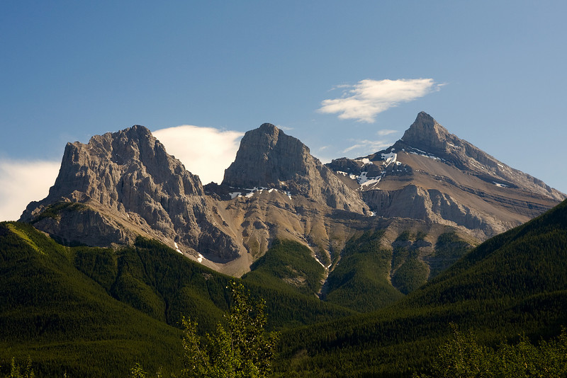 The Three Sisters, Canmore Alberta.