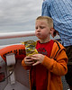 We took the ferry 'The Spirit of British Columbia' to Vancouver Island. <br /> <br /> John wasn't aware I took this photo. <br /> <br /> He was pretty excited at first about taking a ferry ride, but got bored with it fast as there really isn't much for him to do on the 90 minute ride to Vancouver Island.