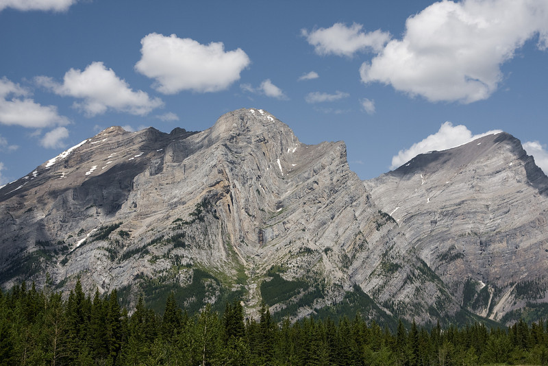 Wanted to capture a photo of the rock formations of this mountain. (highway 40)