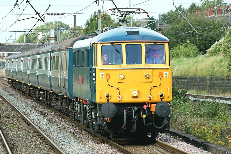 86101 Leyland 2/10/2008<br /> 1Z87 0908 Crewe CS-Crewe CS (via Carlisle)