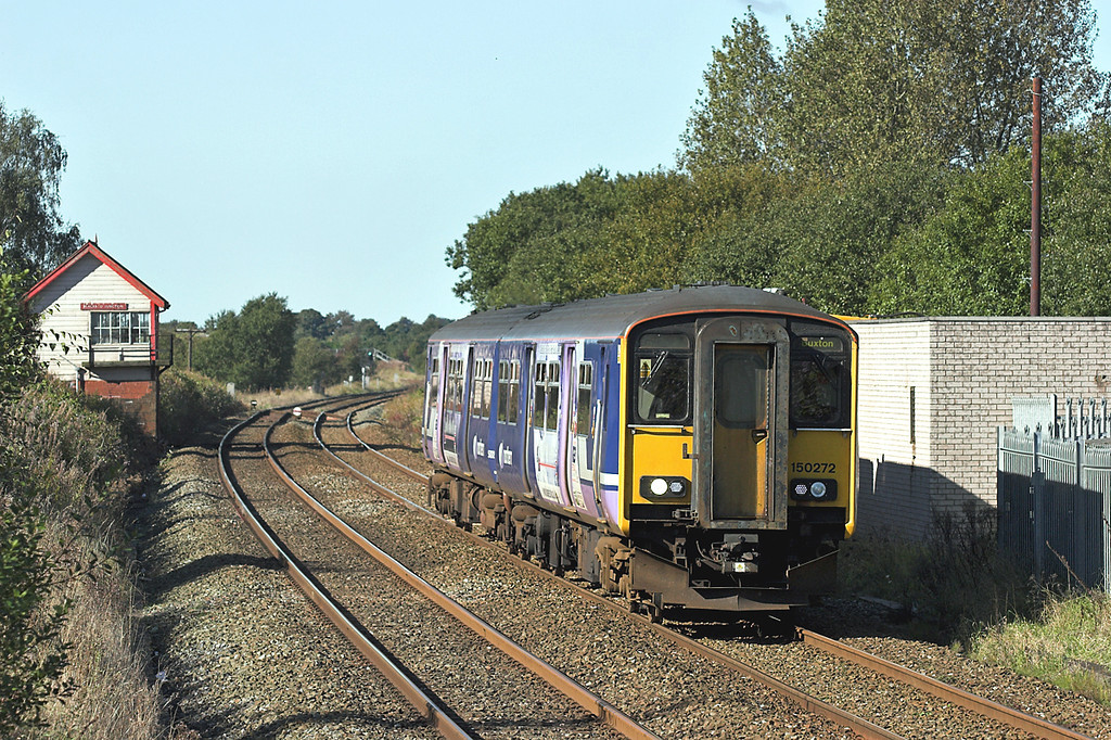 150272 Blackrod 5/10/2008<br /> 2H92 1328 Blackpool North-Buxton