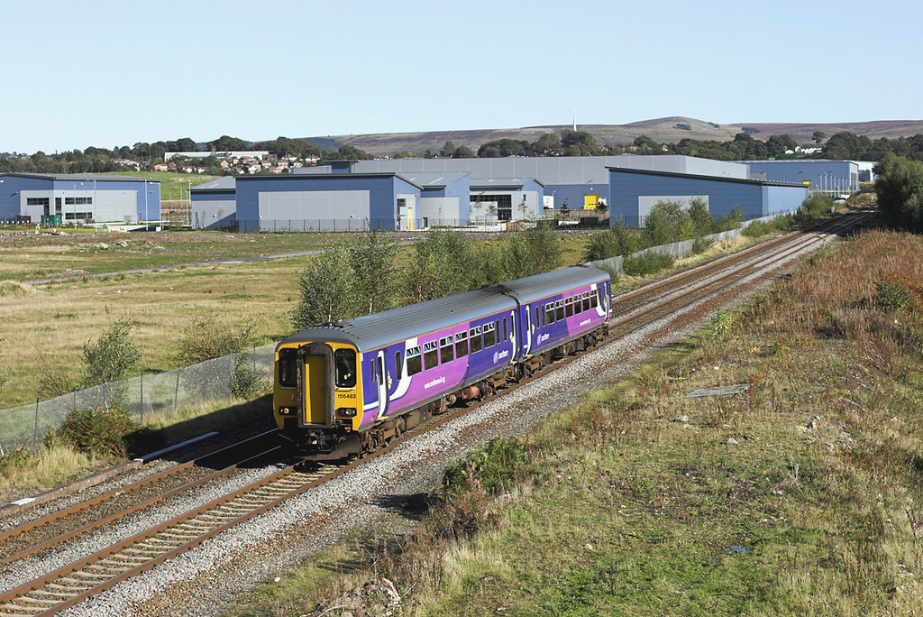 156483 Buckshaw Village 5/10/2008<br /> 2N93 1325 Buxton-Blackpool North