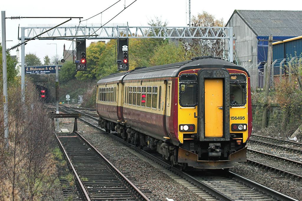 156495 Carlisle 6/11/2008<br /> 1S74 1239 Newcastle-Stranraer