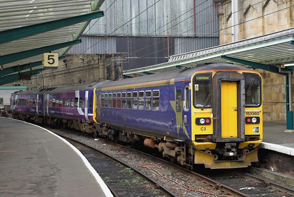153360 and 158791, Carlisle 6/11/2008<br /> 2H89 1151 Carlisle-Leeds
