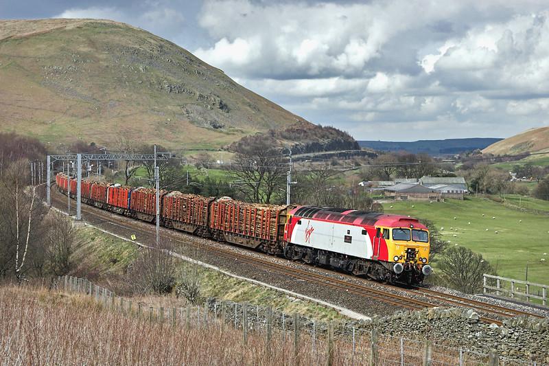 57304 Dillicar 8/4/2008<br /> 6J37 1327 Carlisle Yard-Chirk