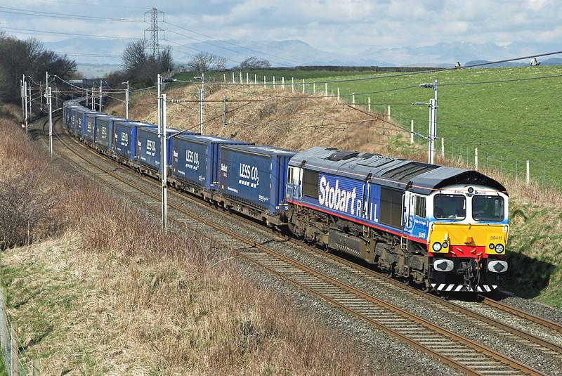66411 Docker 8/4/2008<br /> 4S43 0631 Daventry-Grangemouth