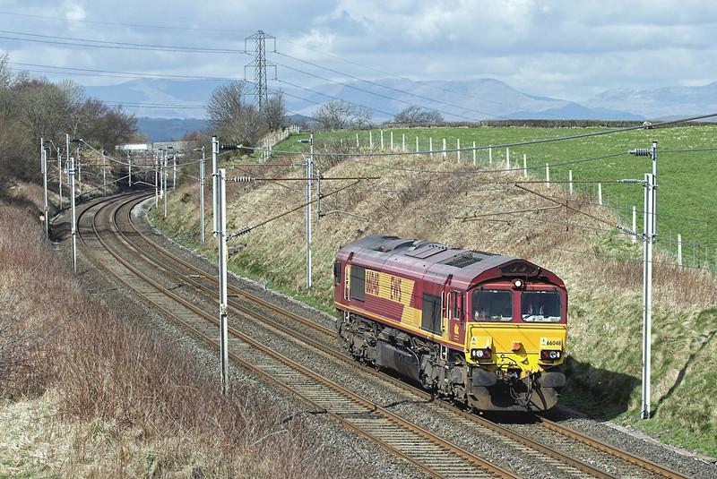 66048 Docker 8/4/2008<br /> 0C19 1035 Carnforth BES-Carlisle Yard