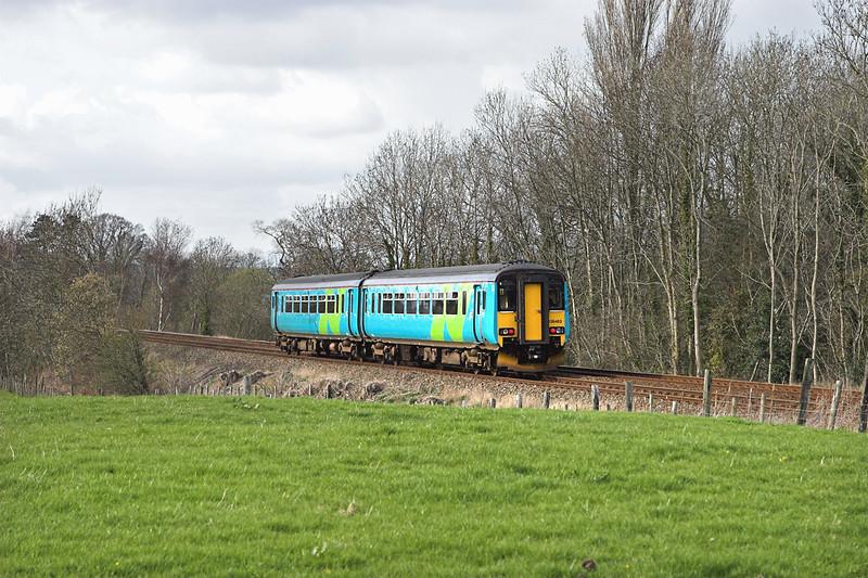 156463 Arnside 8/4/2008<br /> 2C37 1639 Lancaster-Millom