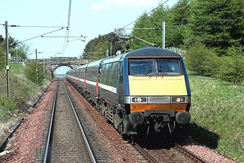 91122 Carstairs 8/5/2008<br /> 1S13 1100 London Kings Cross-Glasgow Central