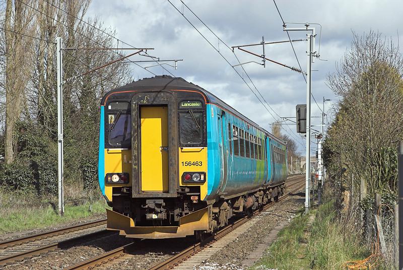 156463 Bolton le Sands 9/4/2008<br /> 2C34 0927 Carlisle-Lancaster