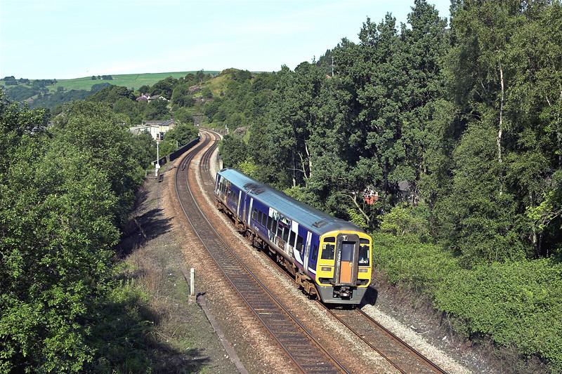 158787 Horsfall Tunnel 9/6/2008<br /> 2E11 0819 Manchester Victoria-Leeds