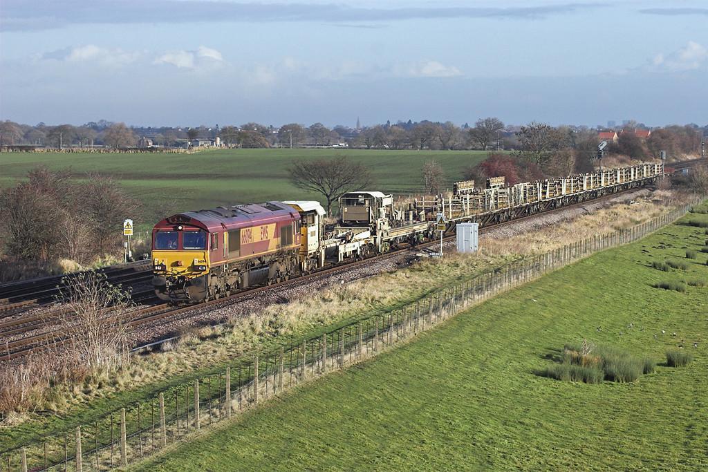 66094 Colton Junction 11/12/2008<br /> 6T35 0600 Bridlington-Doncaster Up Decoy Yard