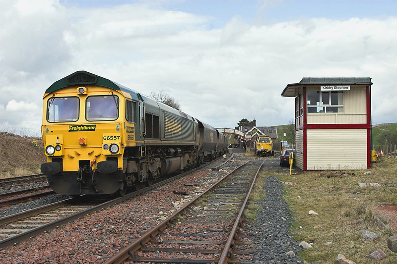 66557 Kirkby Stephen 12/4/2008<br /> 6E73 0608 Hunterston-Drax PS