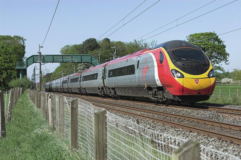 390018 Brock 13/5/2008<br /> 1A80 1434 Carlisle-London Euston