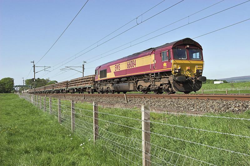 66084 Brock 13/5/2008<br /> 6K05 1314 Carlisle Yard-Basford Hall