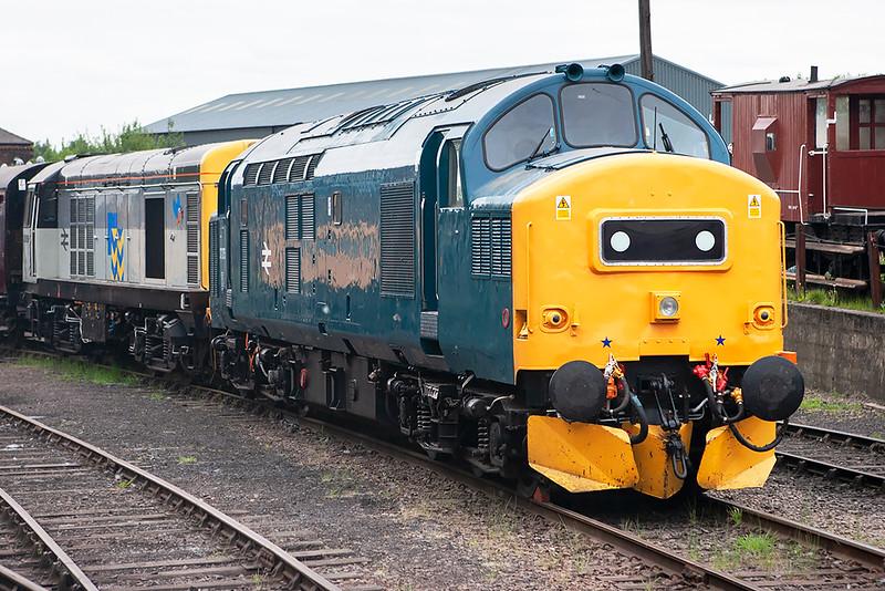 37275 and 20096, Barrow Hill 16/5/2008